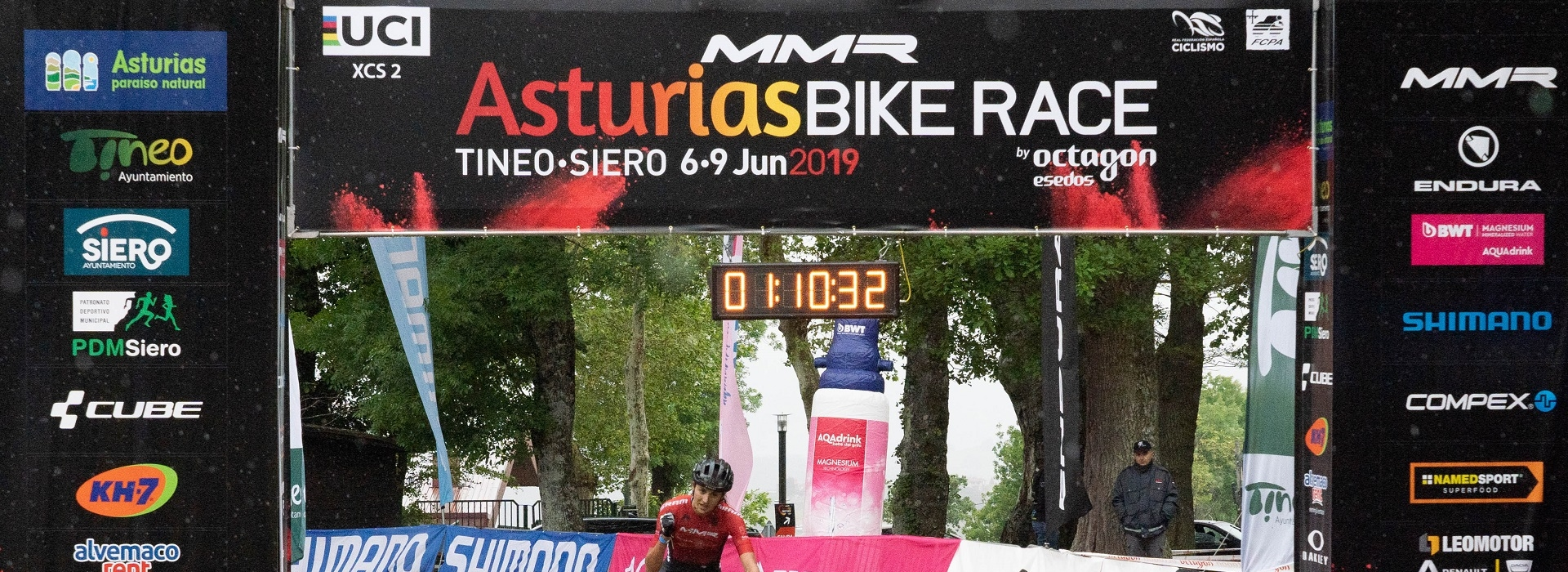 Champion and Fischer command the win in the Tineo Flash Stage